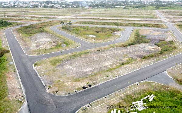 Hình ảnh thực tế tại dự án khu đô thị Đông Bình Dương